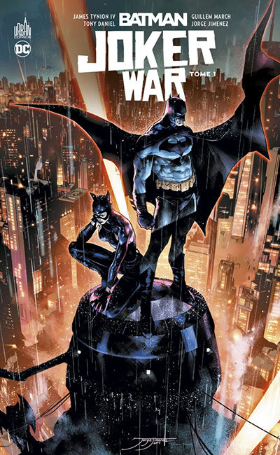 Banniere Batman Joker War Tome 1