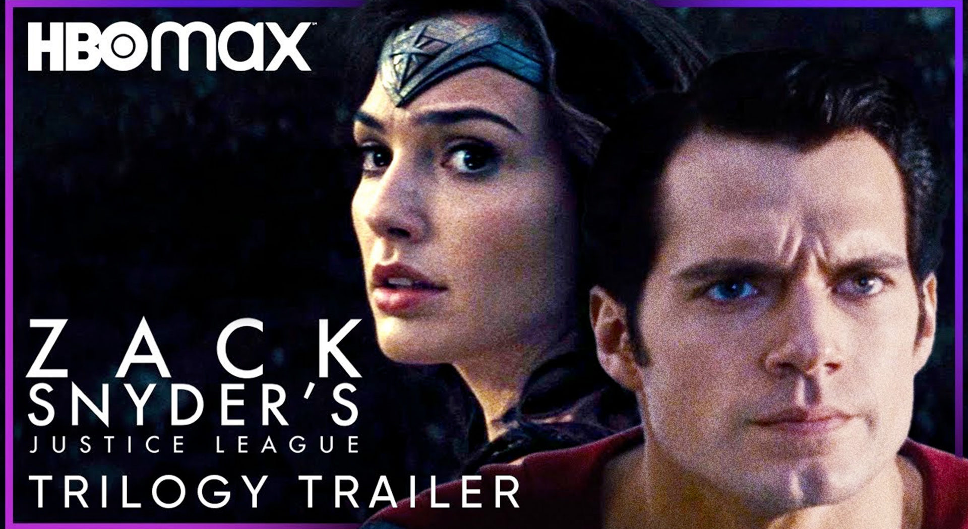 HBO Max Zack Snyder Trilogy Trailer