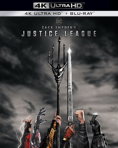 Jaquette Zack Snyder's Justice League 4K Steelbook