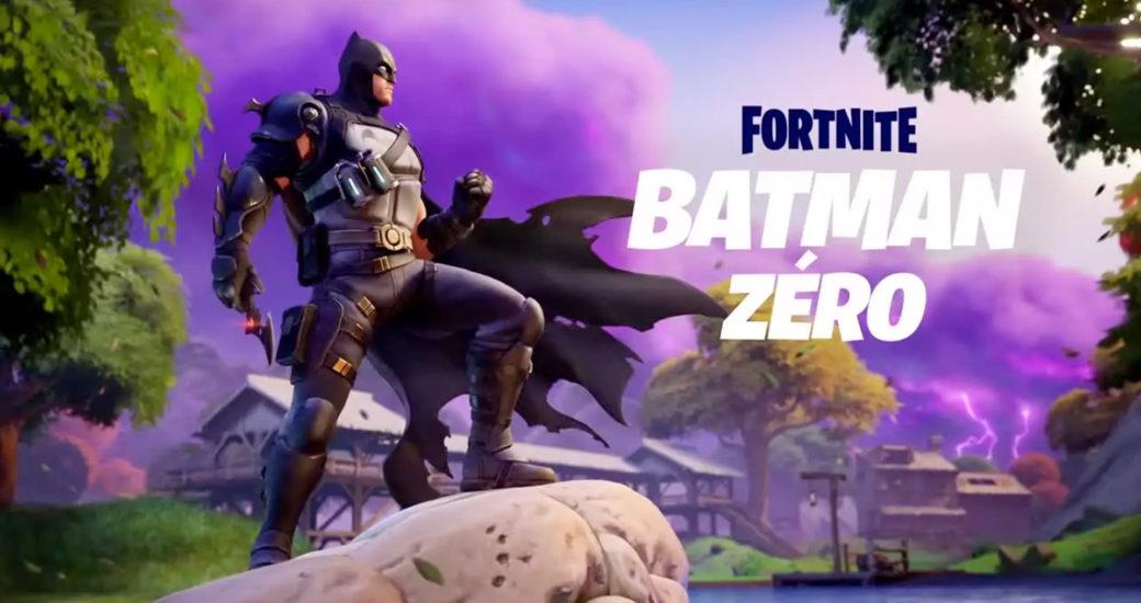 Fortnite : Batman Zéro est là, lachez les V-Bucks !