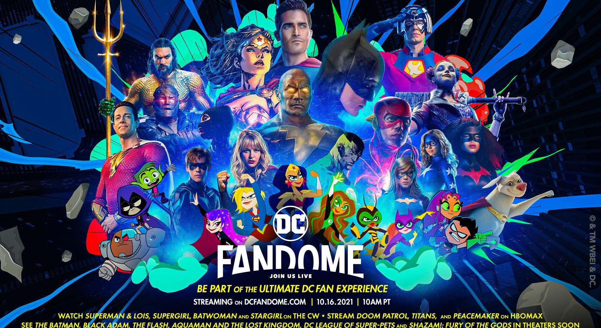 DC FanDome Dc Comics ComicsOwl