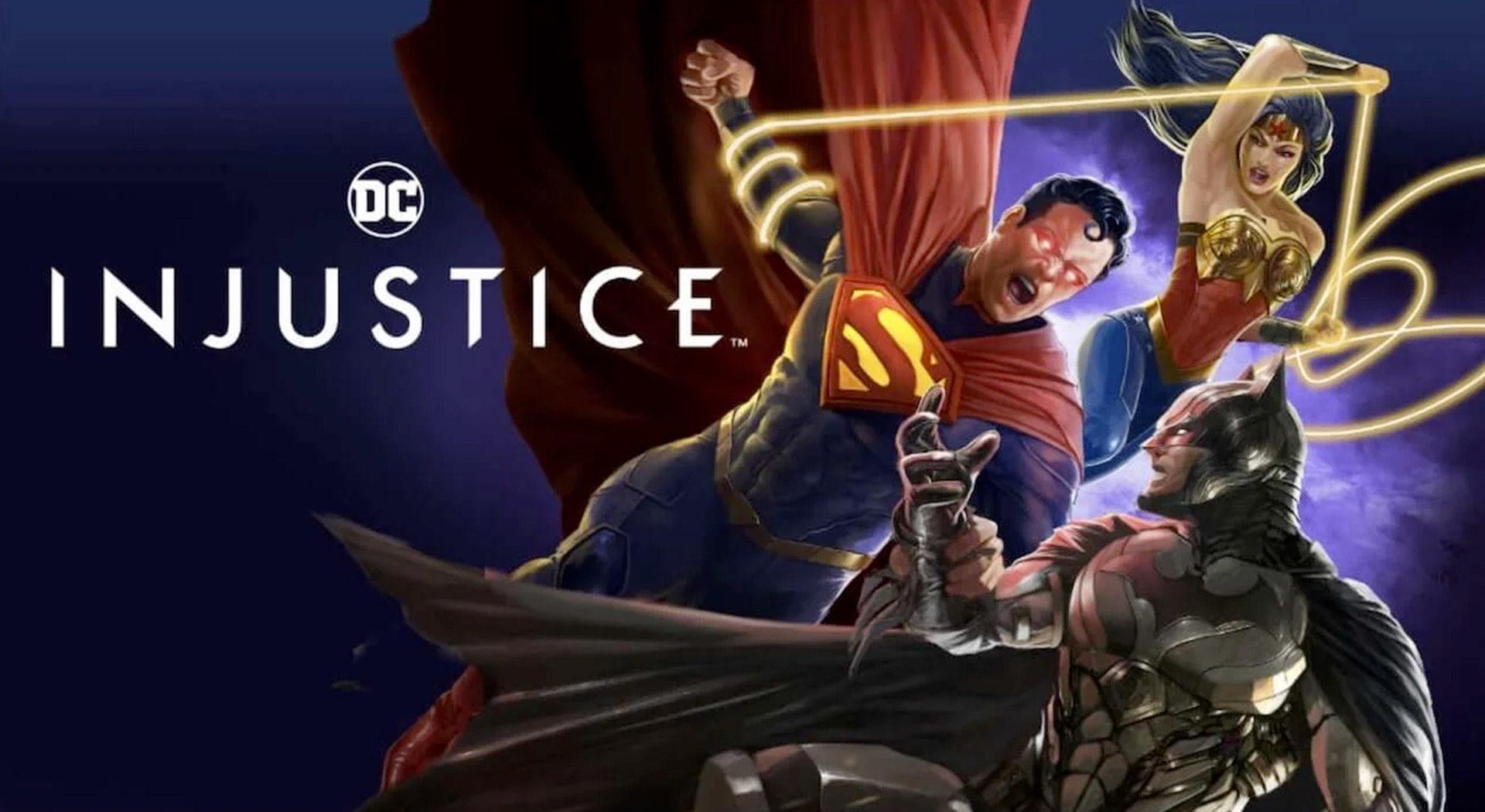 Injustice Animation Dc Comics ComicsOwl